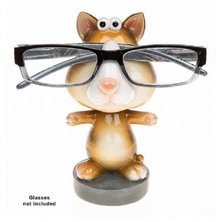 Cat Wobble Head Glasses Holder